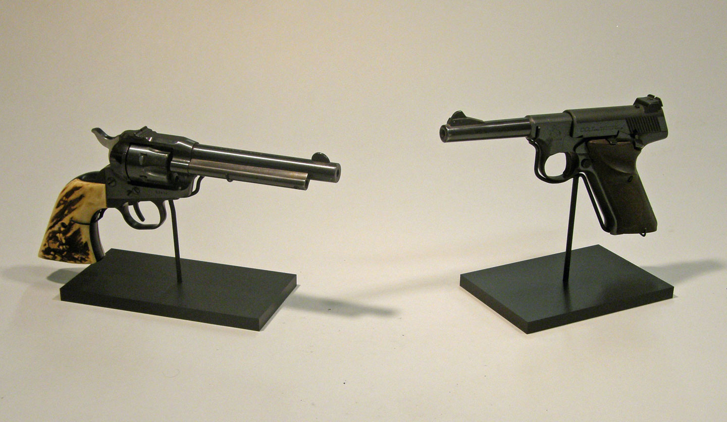 gun stand displays by ADE