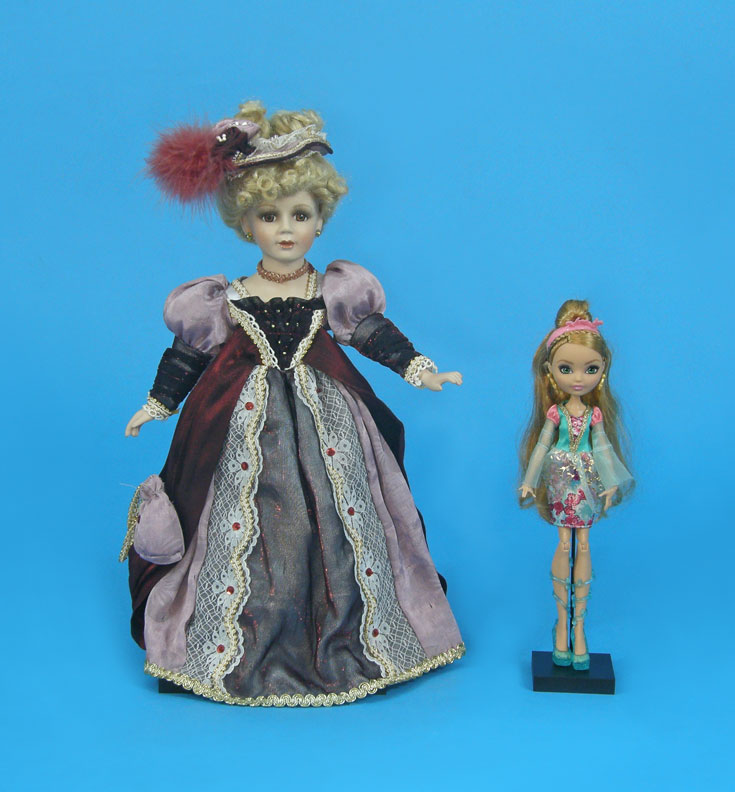 Doll Display Stands by ADE