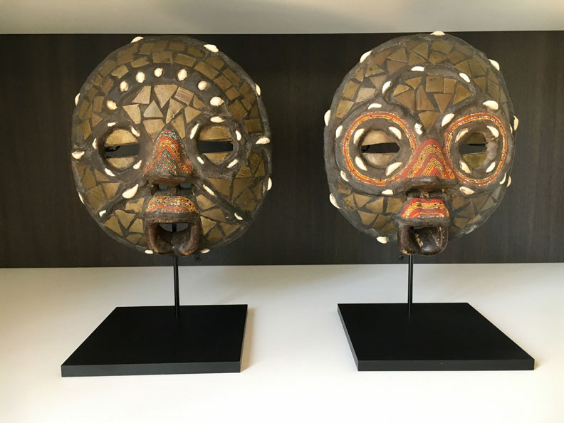 Display Stands For African And Other Masks