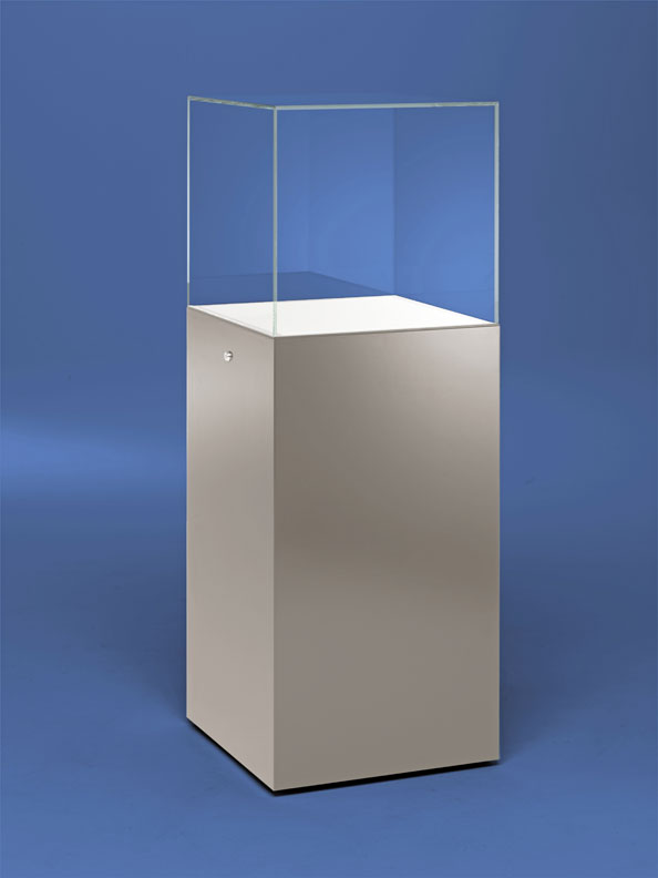 Modern Exhibition Stand By Me : Pedestal display case