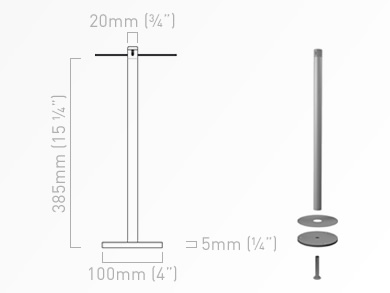 Screw Fixed Barriers B30000