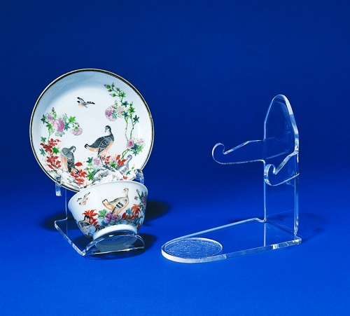 Home | Plate u0026 Bowl Stands | Cup u0026 Saucer stands & Cup and saucer display stands and holders