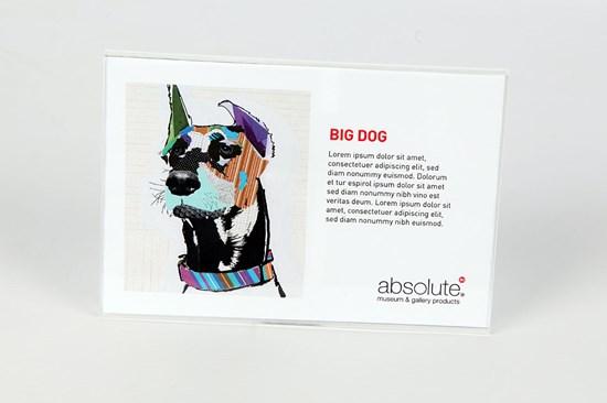 Label Holders Acrylic L150000