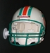 Football Helmet memorabilia wall mount