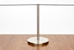"Freestanding 16"" art stanchion - Stainless Steel - AS-S16FS"
