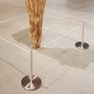 Art Display barriers, Gallery barrier, Museum Barrier, gallery barriers, gallery protection, gallery post
