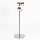 art display info stand,  art identification,  gallery wall artist placards, art gallery placards, art gallery display wall, art gallery sign