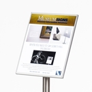 art display signage plate, Museum Signs, gallery wall artist placards, art gallery placards, art gallery display wall, art gallery sign