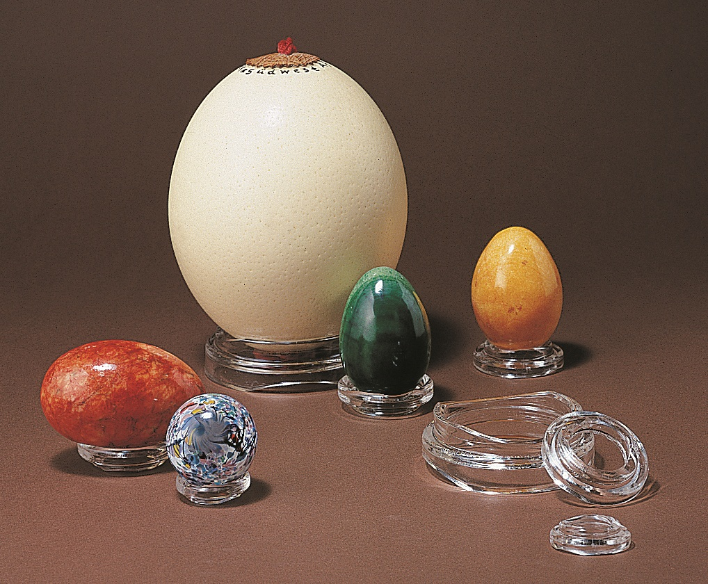egg displays by ADE